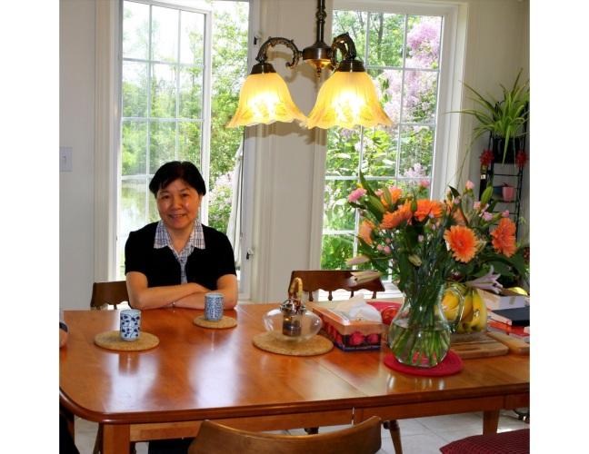 李彦2014年在家中